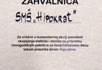 Hipokrat humanitarna pomoć